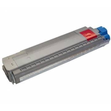 Cartucho tóner reciclado para Oki mc851 mc861 mfp magenta 11k