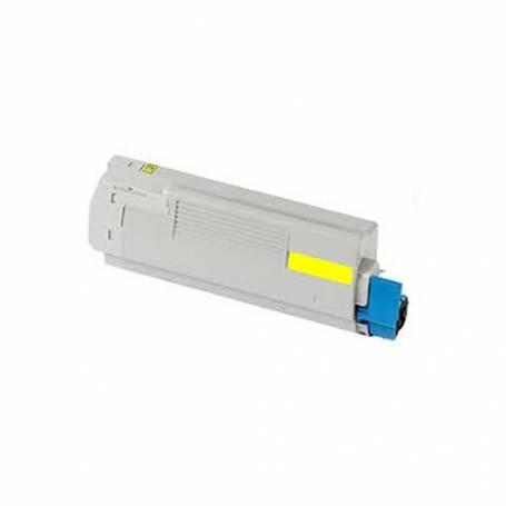 toner reciclado C610 cartucho color amarillo