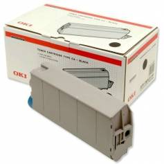 Para Oki c7100 c7300 c7350 c7500 cartucho tóner original para Oki negro