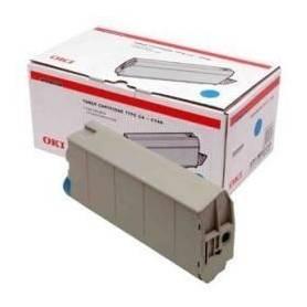 OKI C7100 C7300 C7350 C7500 Cartucho toner original Oki cian