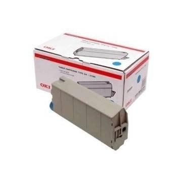 Para Oki c7100 c7300 c7350 c7500 cartucho tóner original para Oki cian