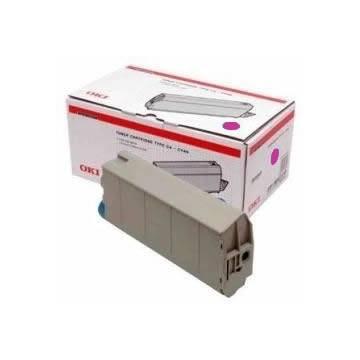 para Oki C7100 C7300 C7350 C7500 Cartucho toner original para Oki magenta