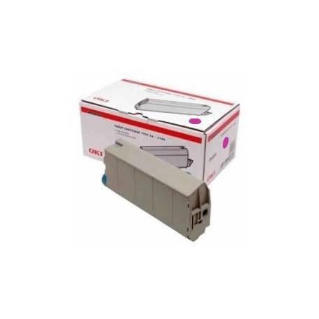 OKI C7100 C7300 C7350 C7500 Cartucho toner original Oki magenta