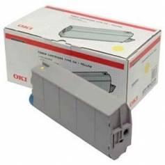 Para Oki c7100 c7300 c7350 c7500 cartucho tóner original para Oki amarillo