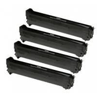 4 Tambores reciclados Oki C9600 C9650 C9655 C9800 C9850 CMYK