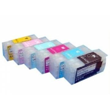 Pp100 6 cartuchos compatibles transparentes recargables sin chip