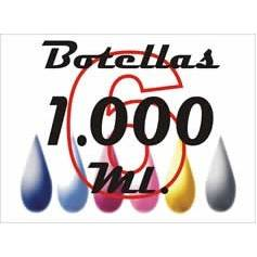Stylus pro 7500 pack 6 botellas 1 litro tinta colorante