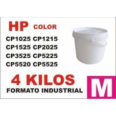 Hp toner series CP1000 - CP5000 MAGENTA formato industrial 4 Kg