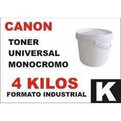 Canon toner monocromo universal formato industrial 4 Kg