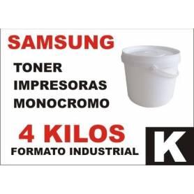 Samsung toner monocromo universal formato industrial 4 Kg