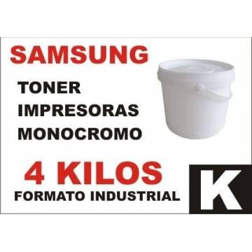 Para Samsung tóner monocromo universal formato industrial 4 kg