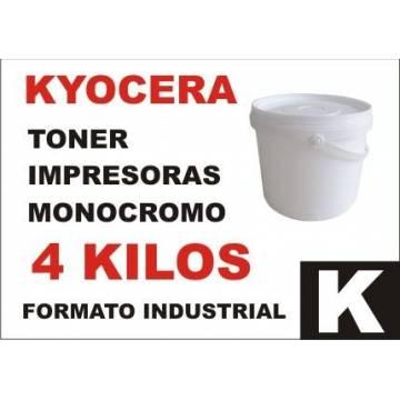 Para Kyocera tóner monocromo universal formato industrial 4 kg