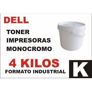 Para Dell tóner monocromo universal formato industrial 4 kg