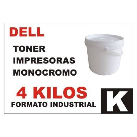 DELL toner monocromo universal formato industrial 4 Kg