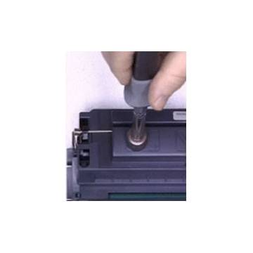 Sacabocados termico para recarga rapida de cartuchos Laser