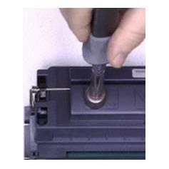 Sacabocados térmico para recarga rápida de cartuchos laser