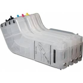 Hp 940 pack de 4 cartuchos vacios recargables con chip CMYK