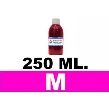 250 ml. tinta magenta colorante para cartuchos para HP