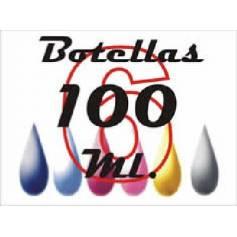 6 botellas de 100 ml tinta pigmentada para Epson cmykCcMc