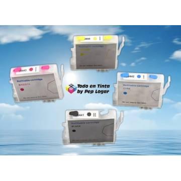 T0441 t0442 t0443 t0444 cartuchos compatibles recargables