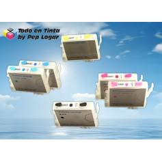 T0481 t0482 t0483 t0484 t0485 t0486 cartuchos compatibles recargables