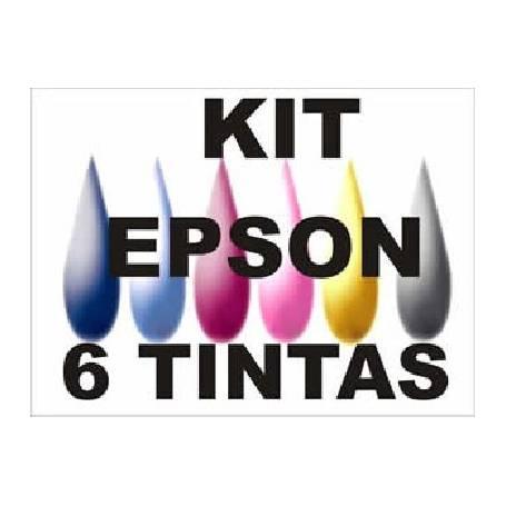 Maxi Kit Pro recarga cartuchos Epson T0481-T0486