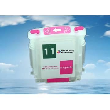 para Hp 11 M cartucho vacio recargable con chip autoreseteable