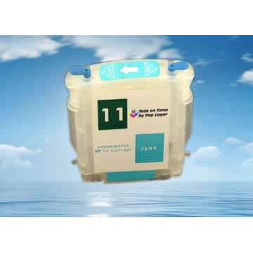 para Hp 11 C cartucho vacio recargable con chip autoreseteable