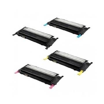 Negro reciclado Samsung clp 320 320n 325 325w clx 3185.1.5k clt k4072s