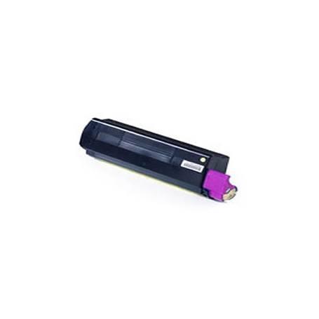 Oki C3100 C3200 C5100 C5200 C5300 C5400 C5540 cartucho reciclado magenta