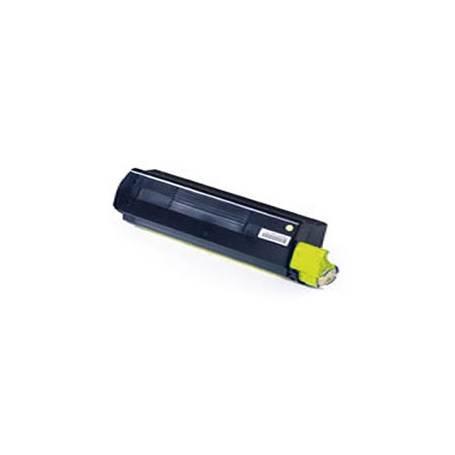 Oki C3100 C3200 C5100 C5200 C5300 C5400 C5540 cartucho reciclado amarillo