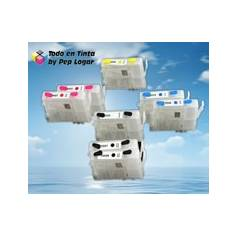 T0541 T0542 T0543 T0544 T0545 T0546 T0547 T0548 cartuchos recargables compatibles Epson