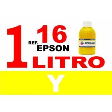 Para cartuchos Epson 16 16 xl botella 1 l tinta compatible amarilla