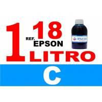 Epson 18, 18 XL botella 1 L tinta cian