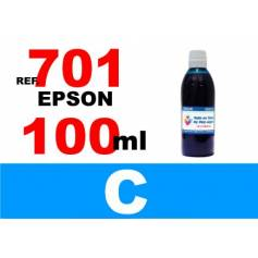 7012 7012 xxl botella 100 ml. tinta cian
