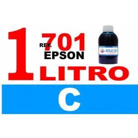 Epson 701, 701 XL botella 1 L tinta cian