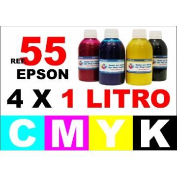 55, 55 XL pack 4 botellas 1 L. CMYK