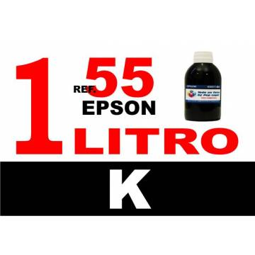 55, 55 XL botella 1 L tinta negra