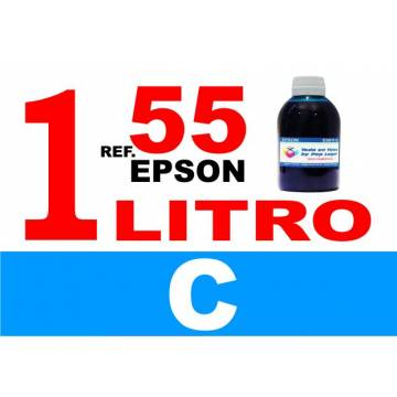 55, 55 XL botella 1 L tinta cian
