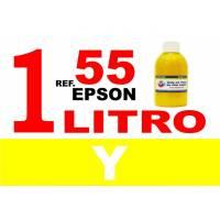 Epson 55, 55 XL botella 1 L tinta amarilla