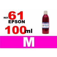 Epson 61, 61 XL botella 100 ml. tinta magenta