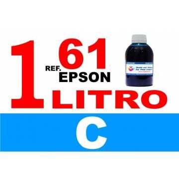 61, 61 XL botella 1 L tinta cian