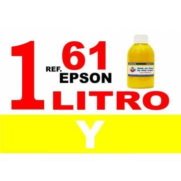 61, 61 XL botella 1 L tinta amarilla