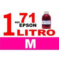 Epson 71, botella 1 L tinta magenta