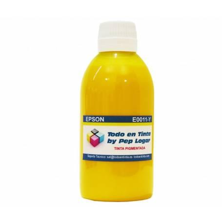 250 ml. tinta amarilla pigmentada para cartuchos Epson