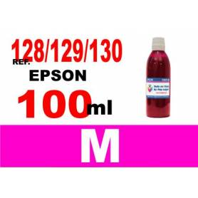 Epson 128, 129, 130 botella 100 ml. tinta magenta