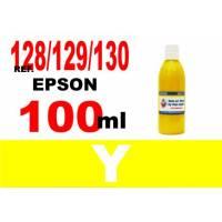 Epson 128, 129, 130 botella 100 ml. tinta amarilla
