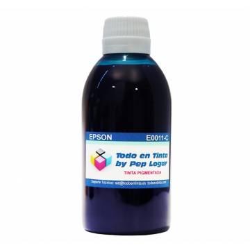250 ml. tinta cian pigmentada para cartuchos Epson