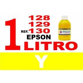Epson 128, 129, 130 botella 1 L tinta amarilla