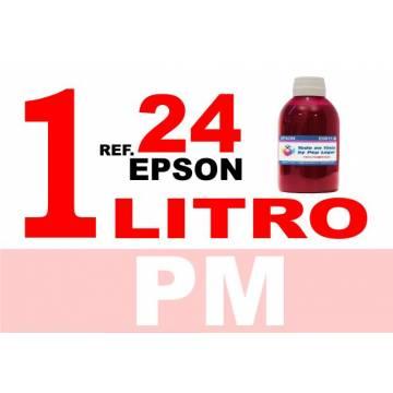 Para cartuchos Epson 24 xl botella 1 l tinta compatible magenta photo